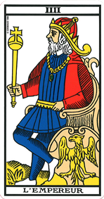 Signification de l'Empereur au tarot