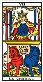 interpretation carte chariot tarot