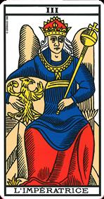 l imperatrice signification de la carte