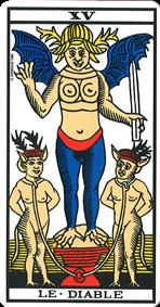 le diable tarot signification