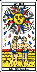 signification soleil tarot