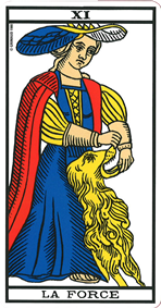 signification force tarot