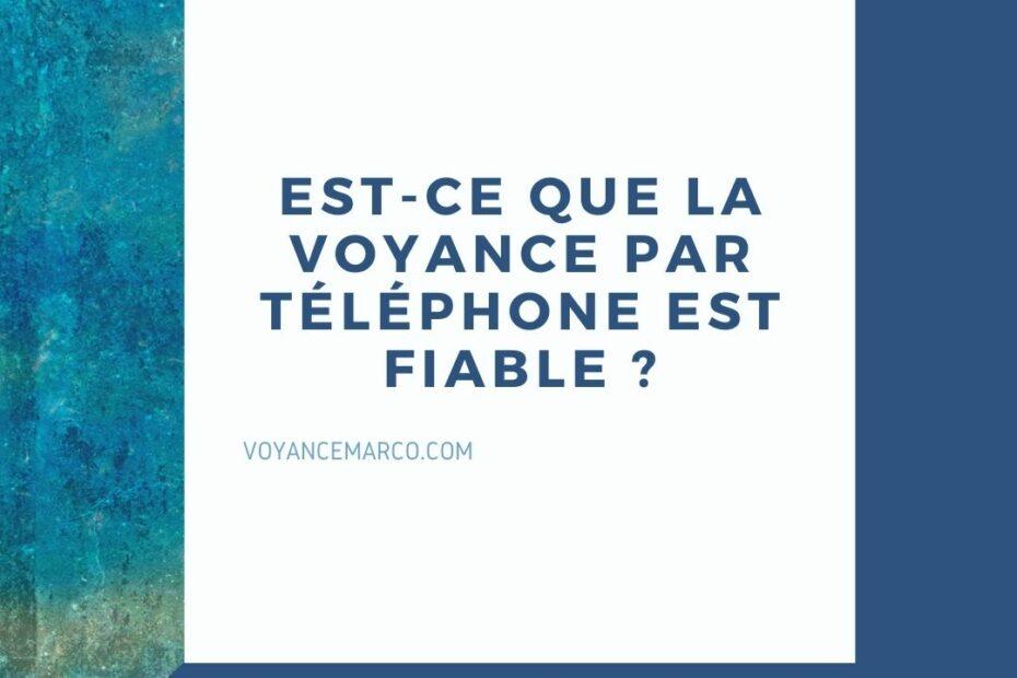 Est-ce que la voyance par téléphone est fiable